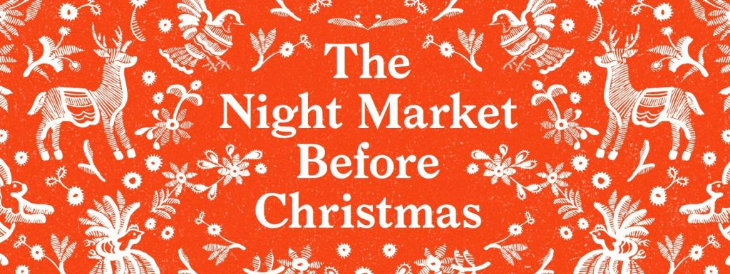 The Night before Christmas market poster