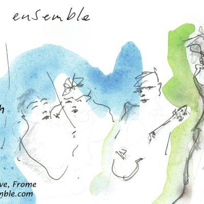 Ishmael Ensemble Concert poster