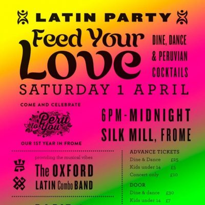 Feed your love poster