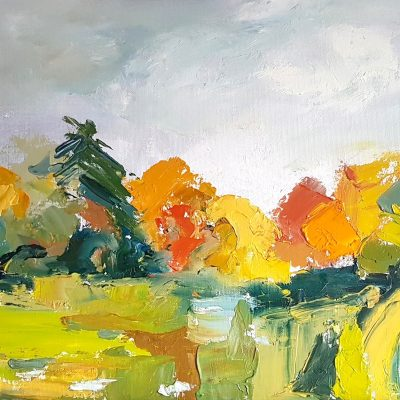 Lynn Keddie painting