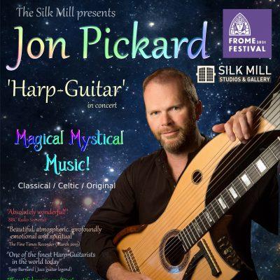 Jon Pickard Harp-Guitar