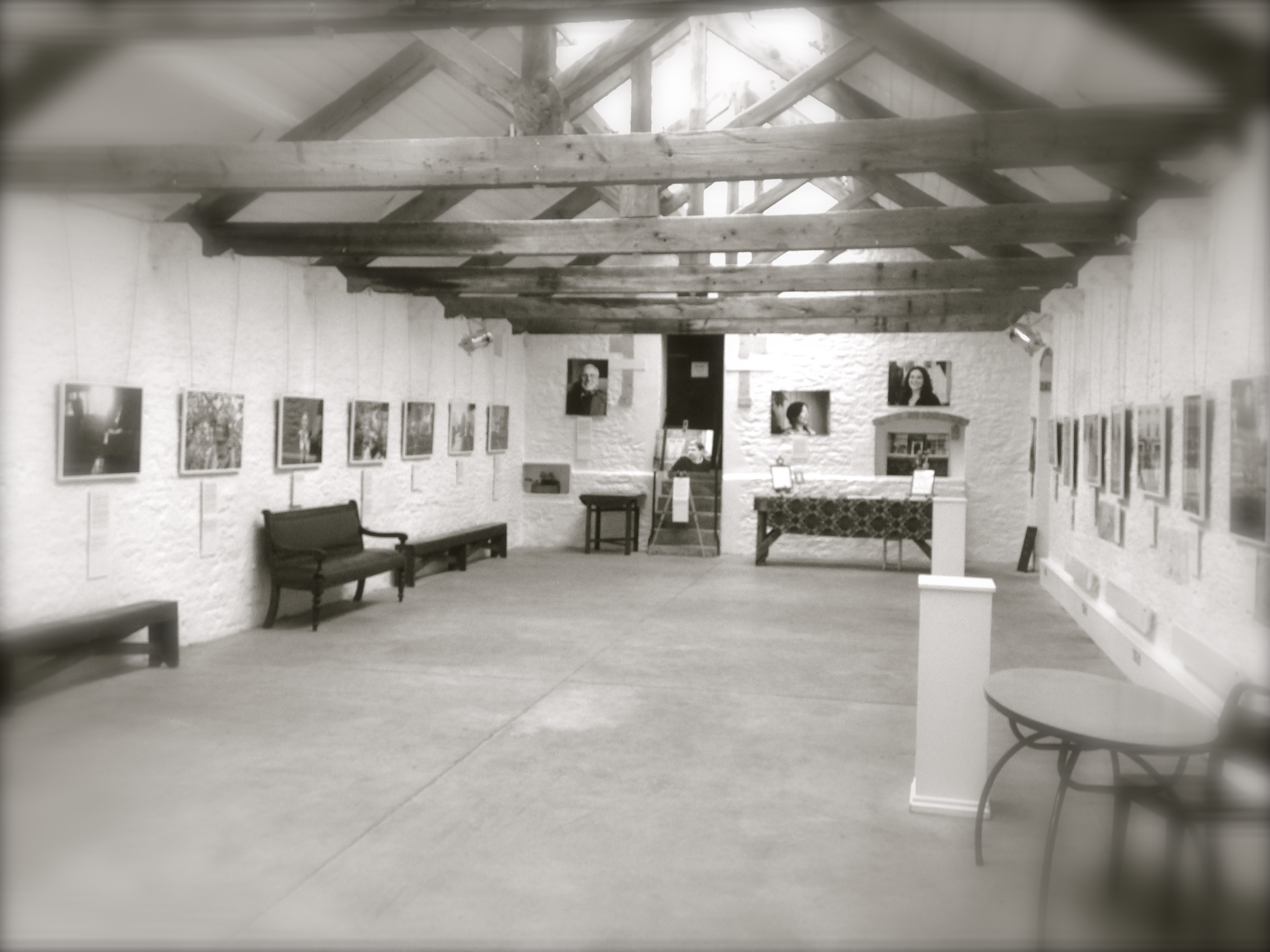 Gallery with Humans of Frome show