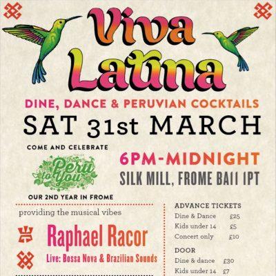 New Viva Latina Poster