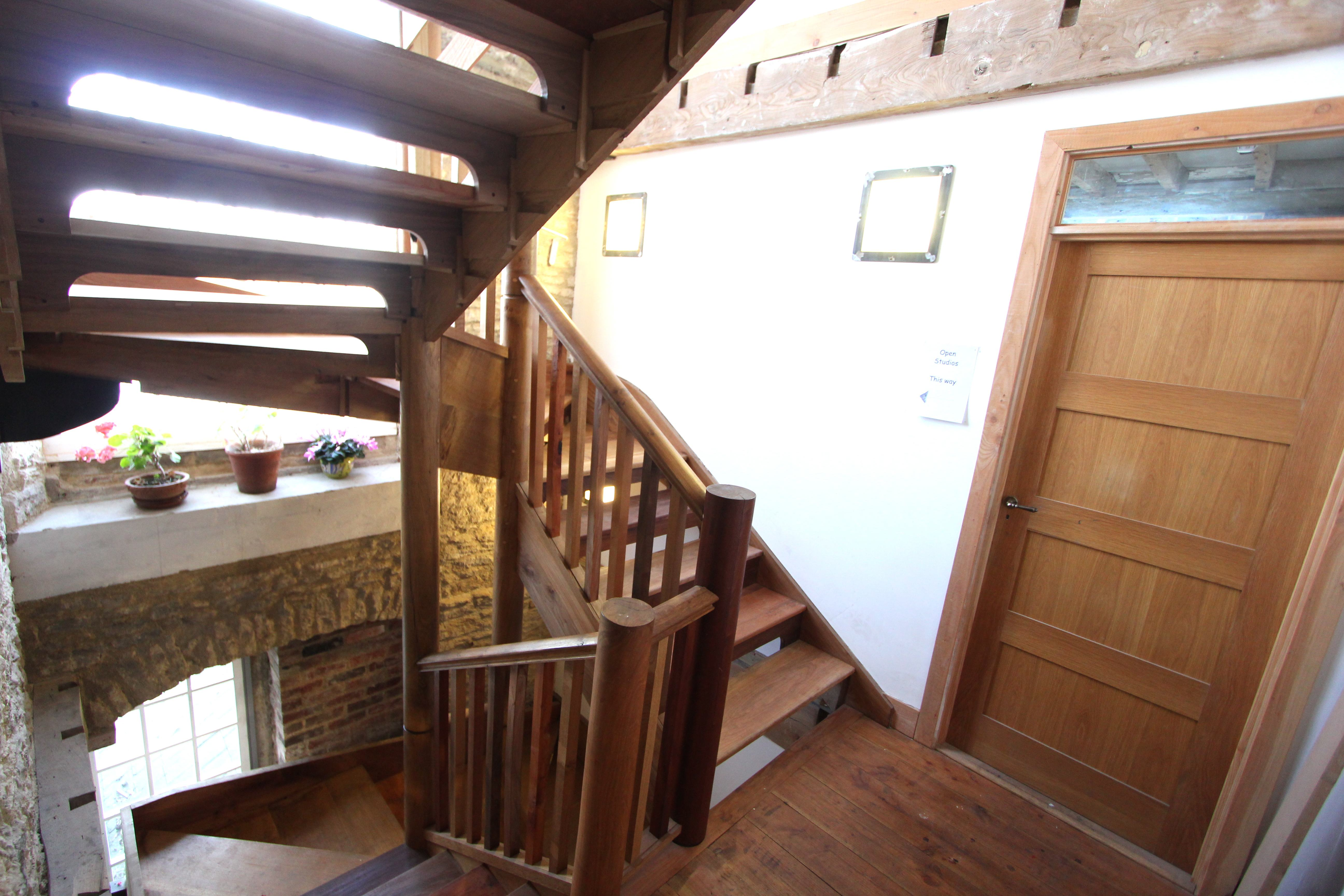 The staircase on the Second floor