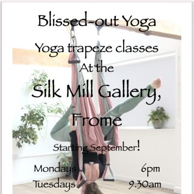 Blissed Out Yoga poster