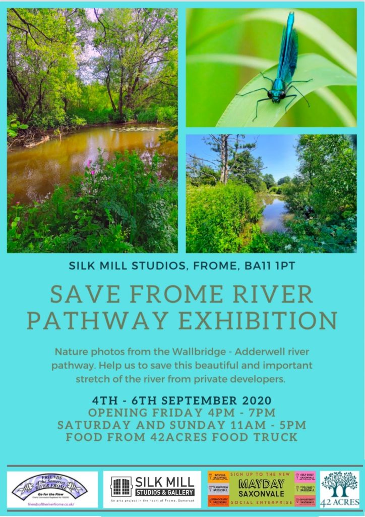 Save River Frome Pathway Exhibition
