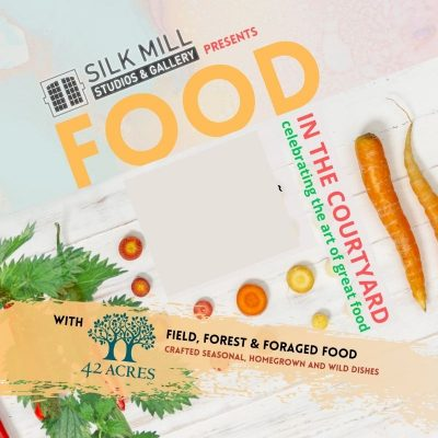 42 Acres promotion poster for pop up food