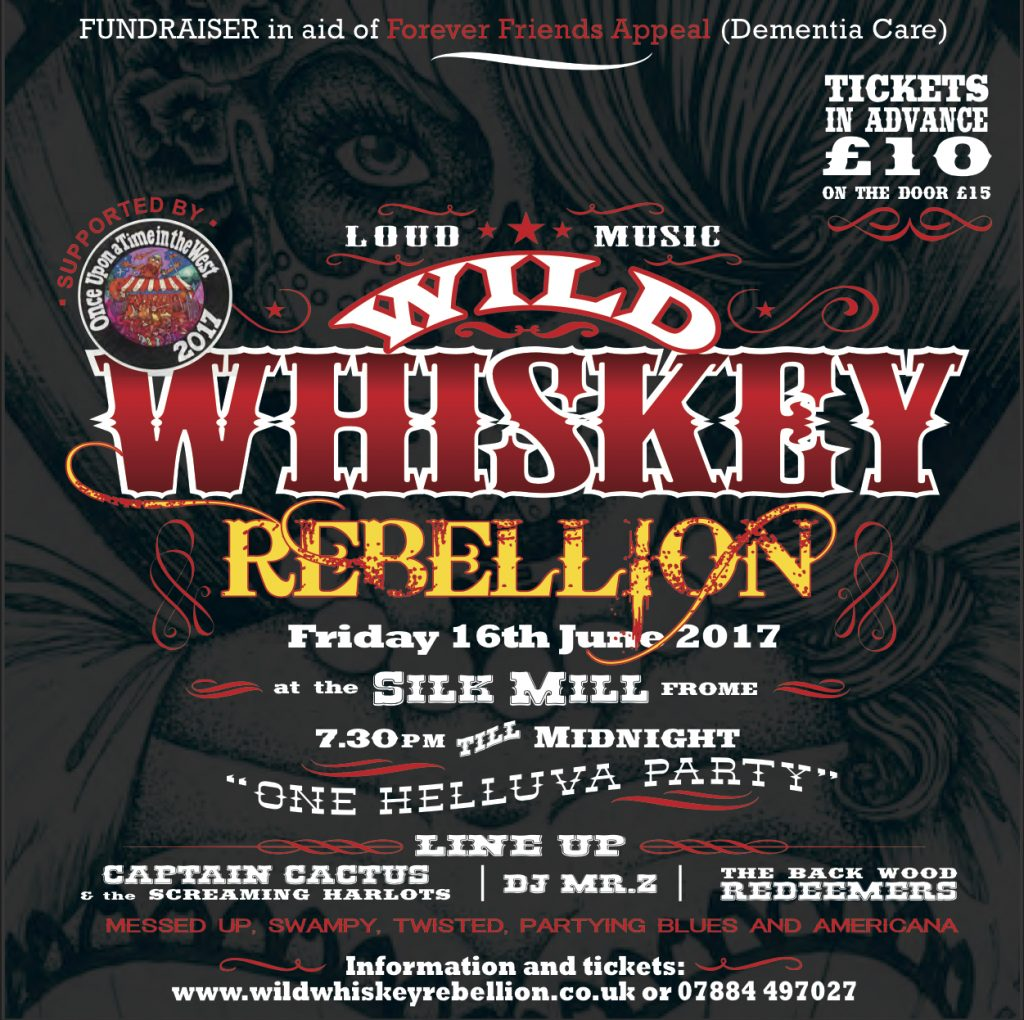 Wild whiskey rebellion poster