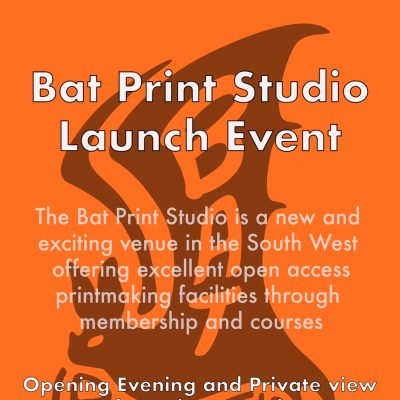 Bat Print Launch event