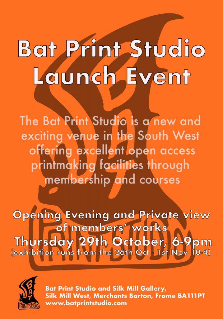 Bat Print Launch event